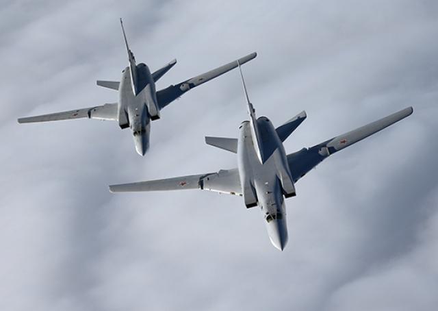 В Крыму размещены стратегические бомбардировщики-ракетоносцы Ту-22МЗ