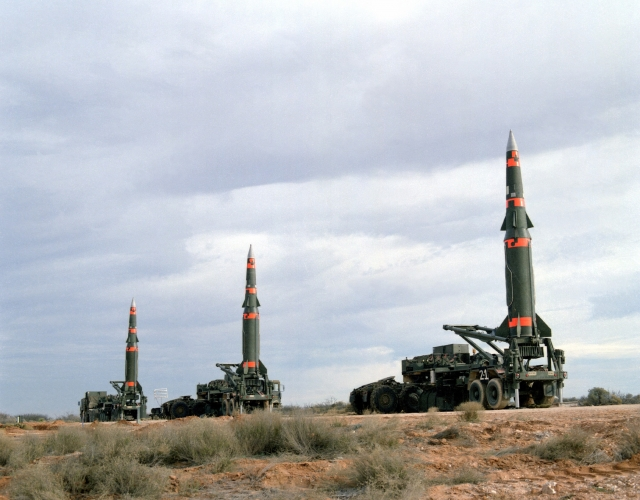 Американские ракеты средней дальности в Европе