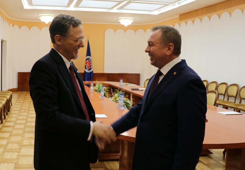 4 марта 2019 года Владимир Макей встретился с американской делегацией во главе с заместителем помощника Государственного секретаря США Джорджем Кентом
