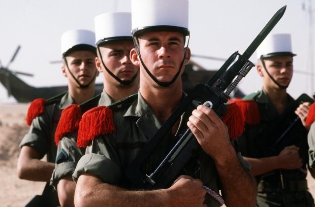 Французские военные +