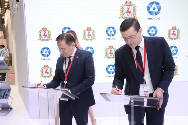 Алексей Лихачев и Глеб Никитин
