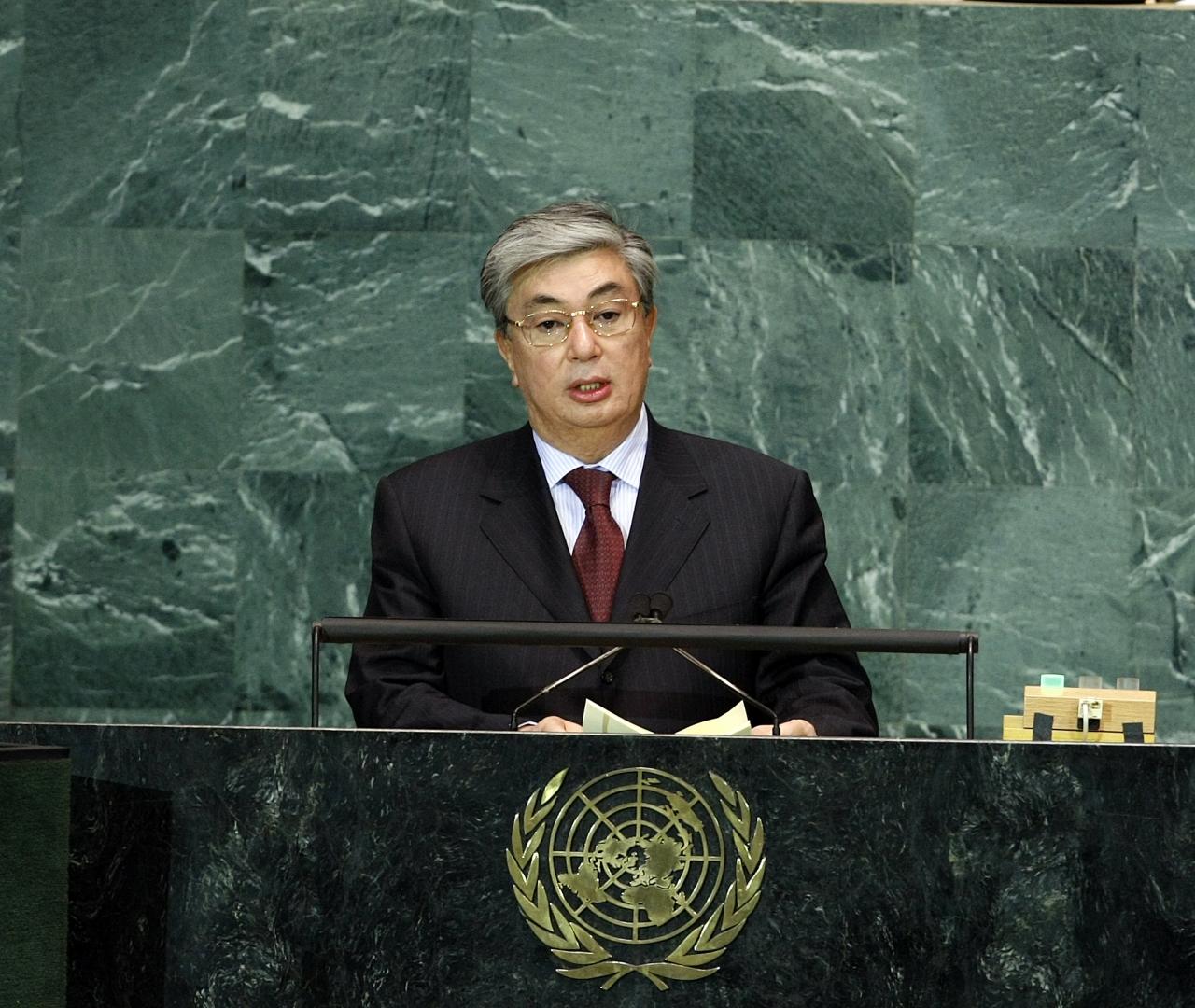 Касым-Жомарт Токаев в ООН