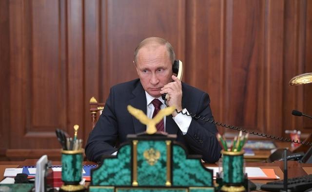 Стало известно содержание телефонного разговора Путина и Назарбаева