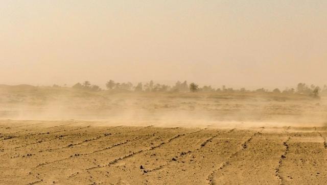 Код «синий»: серьезные песчаные бури обрушатся на север Китая