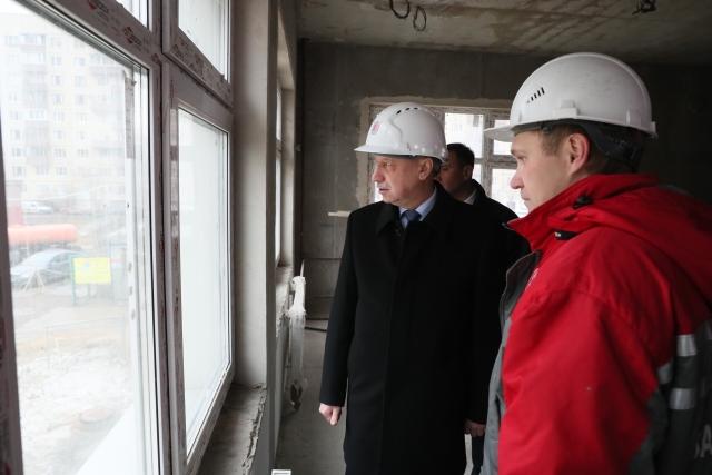 «Стройте как для своих детей»: Беглов поставил условия подрядчикам