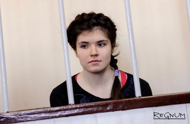 Защита осужденной за связь с ИГ* Карауловой просит освободить ее по УДО