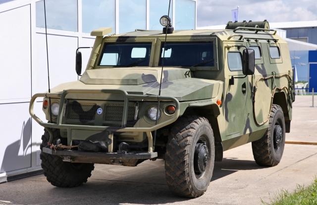 Бронеавтомобили «Тигр-М» поступили в российские подразделения в Абхазии