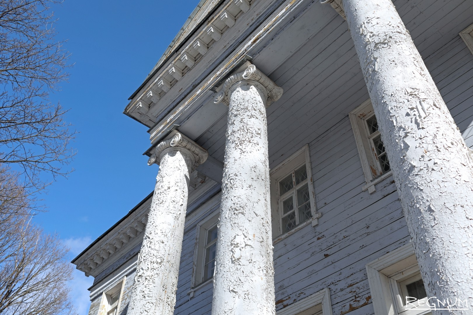 Элементы здания, требующие реставрации