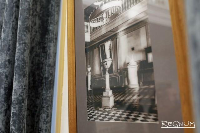 Фотография усадьбы времен Набокова