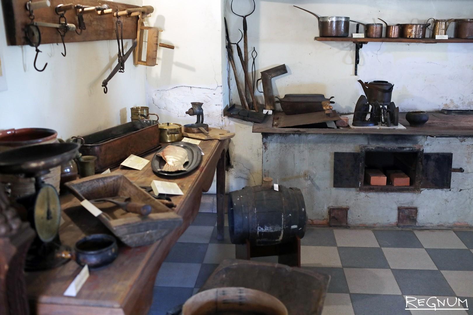 Кухня усадьбы