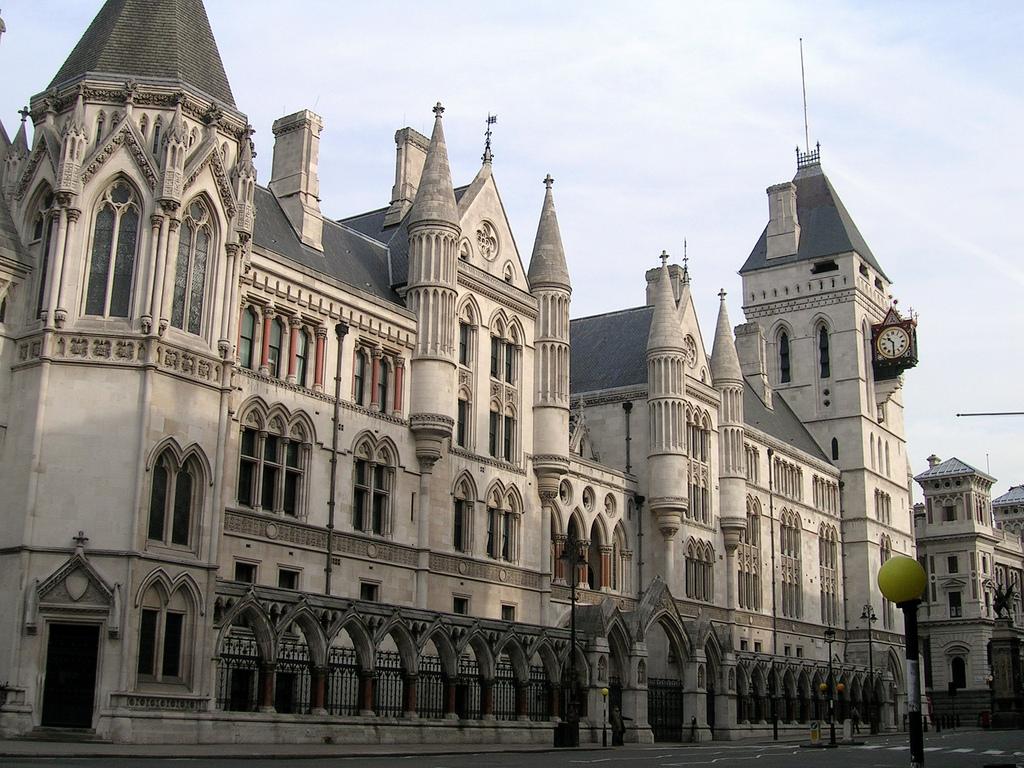 Королевский судный двор, в котором располагаются Высокий суд и Апелляционный суд Англии и Уэльса