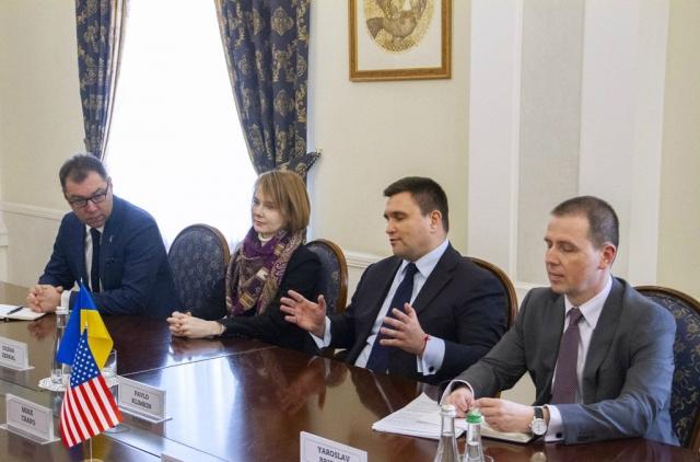 Климкина навестили члены Конгресса США. Обещали много всего