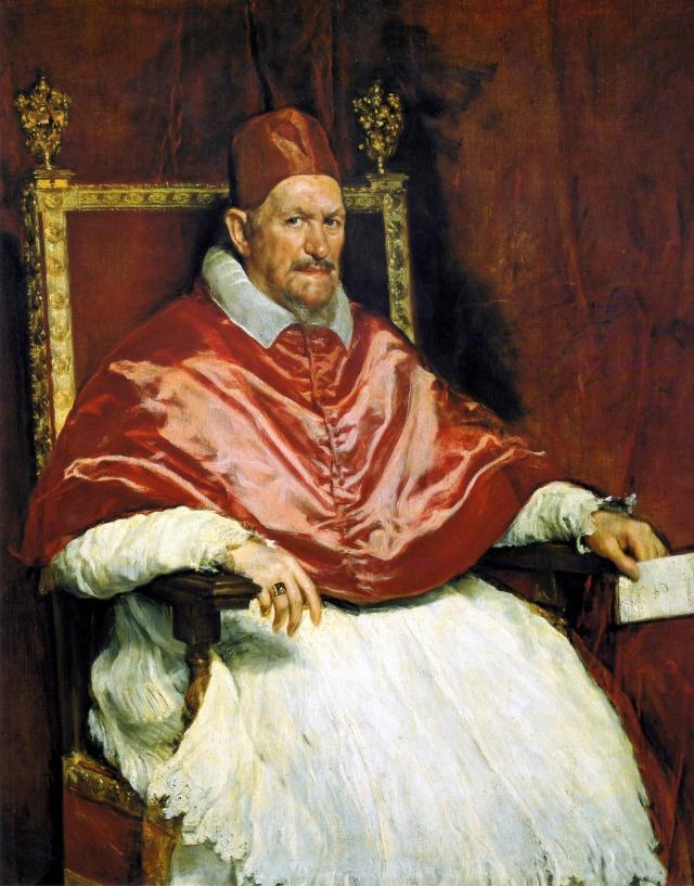 Диего Веласкес. Портрет папы Иннокентия Х. 1650