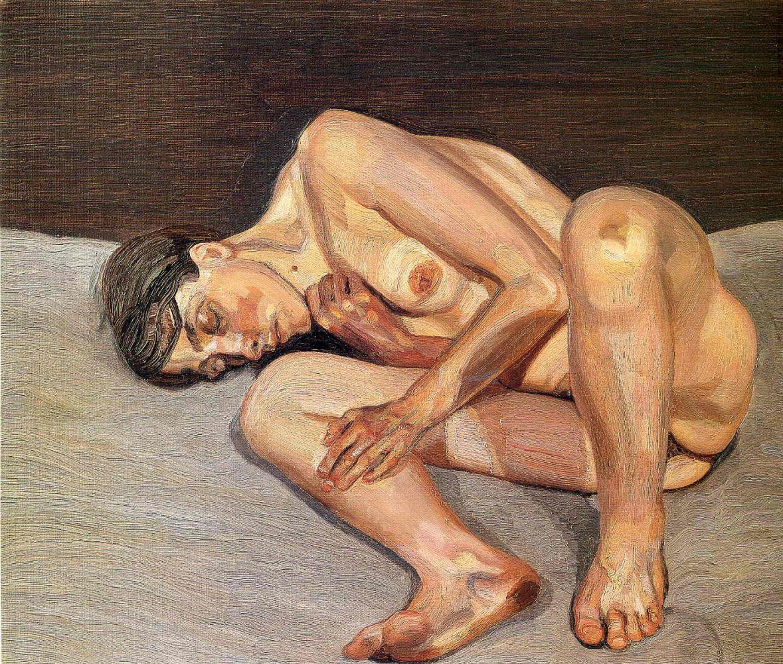 Люсьен Фрейд. Маленький портрет обнаженной. 1974