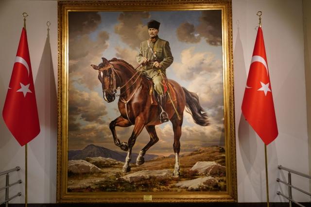 Портрет Мустафы Кемаля Ататюрка