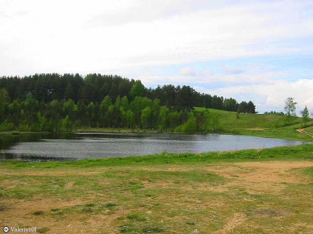 Реликтовое, бессточное озеро на Колтушской холмисто-камовой возвышенности