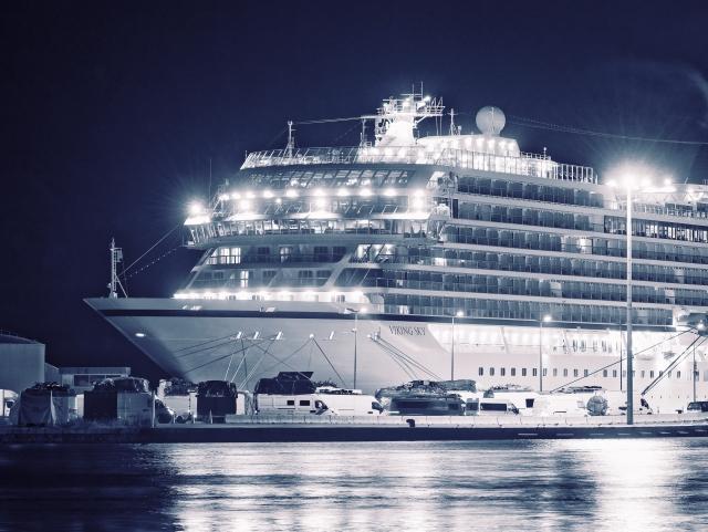 Пассажиры Viking Sky сняли на видео происходящее на борту лайнера