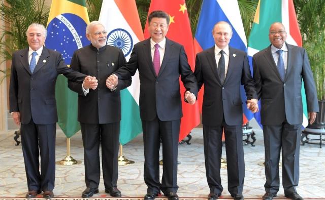 Лидеры стран — членов БРИКС