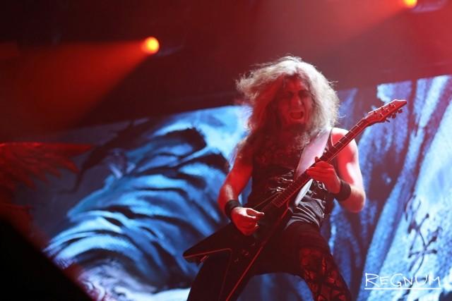 Гитарист группы Powerwolf