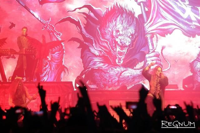 Выступление группы Powerwolf в A2