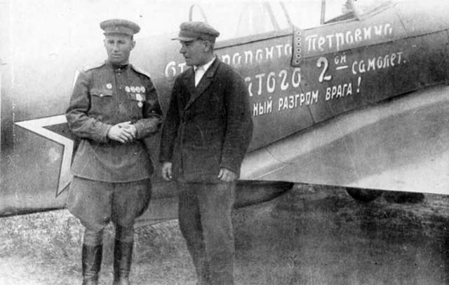 Борис Еремин и Ферапонт Головатый. Май 1944
