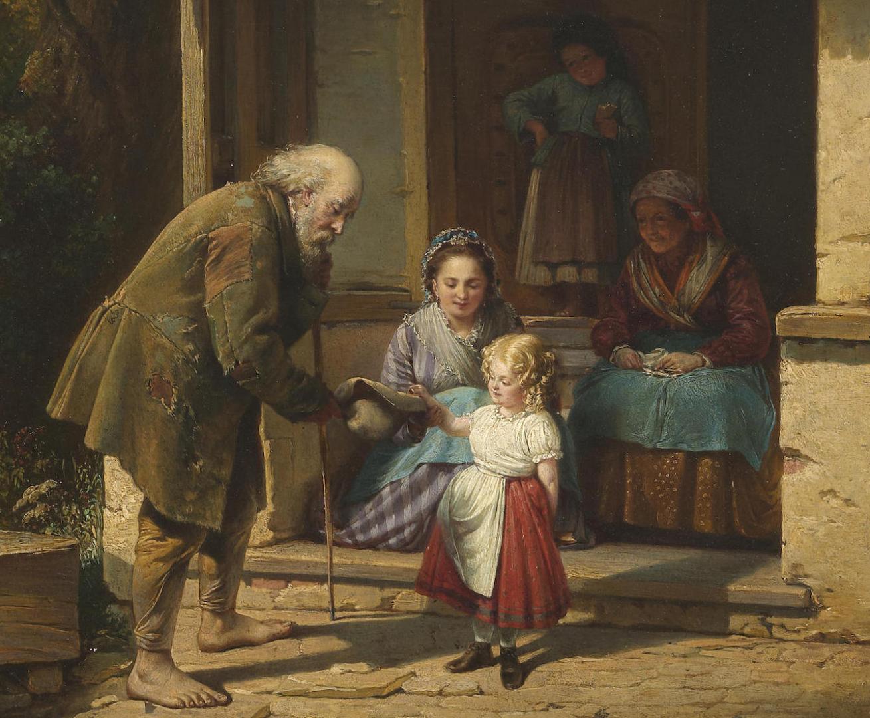 Август Генрих Мансфельд — Милосердие 1871