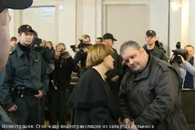 Юрий Мель с адвокатом