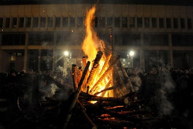 13 января 2010 г., годовщина событий 1991 года в Вильнюсе