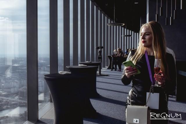 Смотровая площадка «Panorama 360» в Москва-Сити
