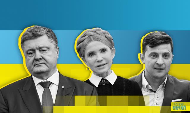 Экзит-полл «Социс»: Зеленский — 29,25%, Порошенко — 19,19%