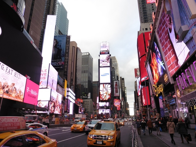 Манхэттен. Нью-Йорк. США