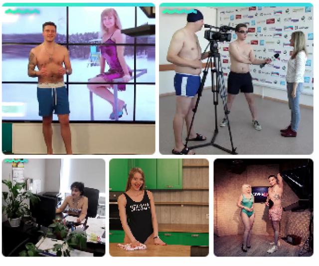 Алтайские телевизионщики разделись, чтобы поддержать уволившегося педагога