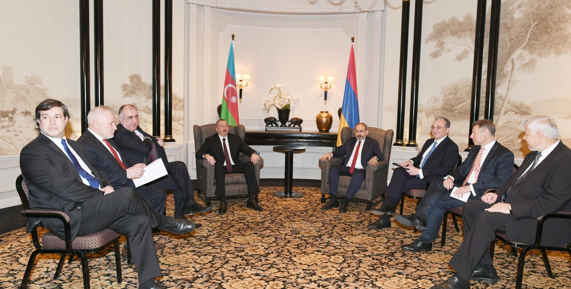 Армяно-азербайджанская встреча в Вене