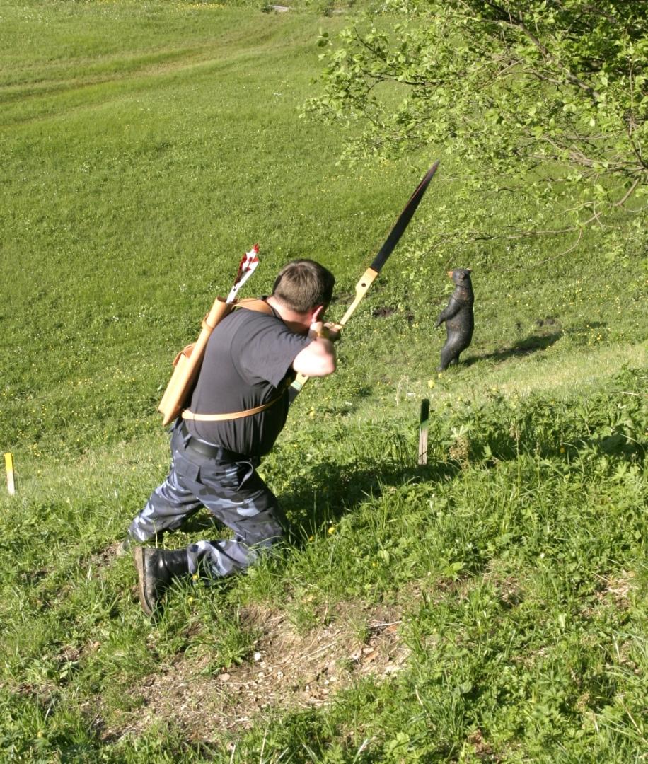 Полевая стрельба с олимпийским луком