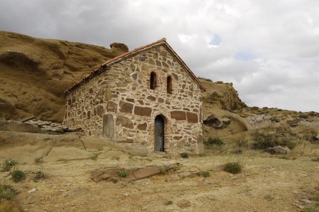 Часть монастырского комплекса, расположенная на территории Агстафинского района Азербайджана