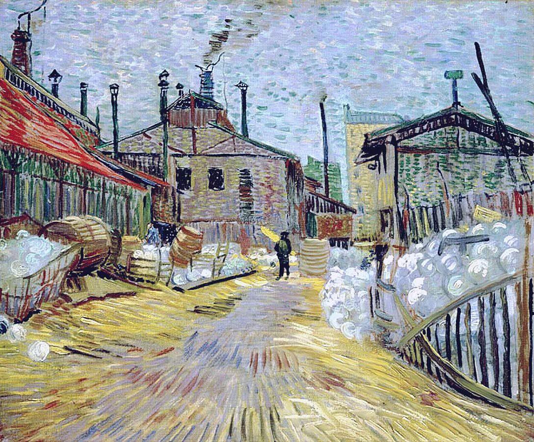 Винсент Ван Гог. Заводы. 1887