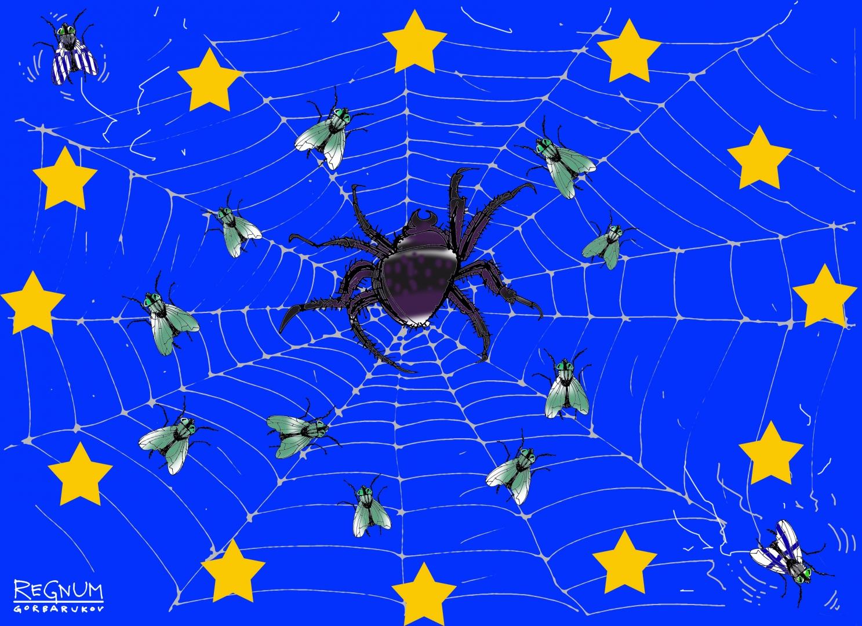 Евросоюз в паутине