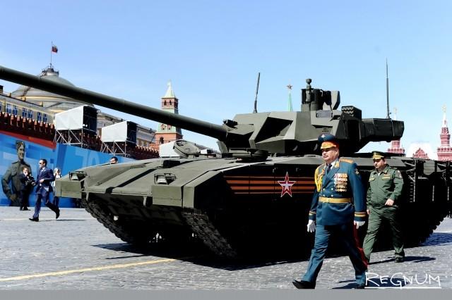 Танк «Армата». Парад Победы на Красной площади. 9 мая 2015 года