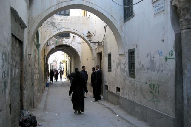 На улицах Триполи