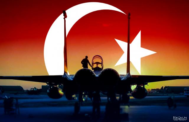 ВВС Турции вновь нанесли удары по территории Ирака
