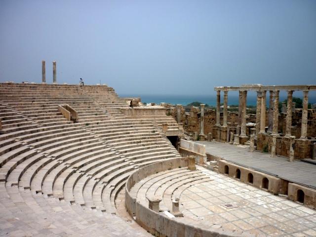 Амфитеатр в Ливии