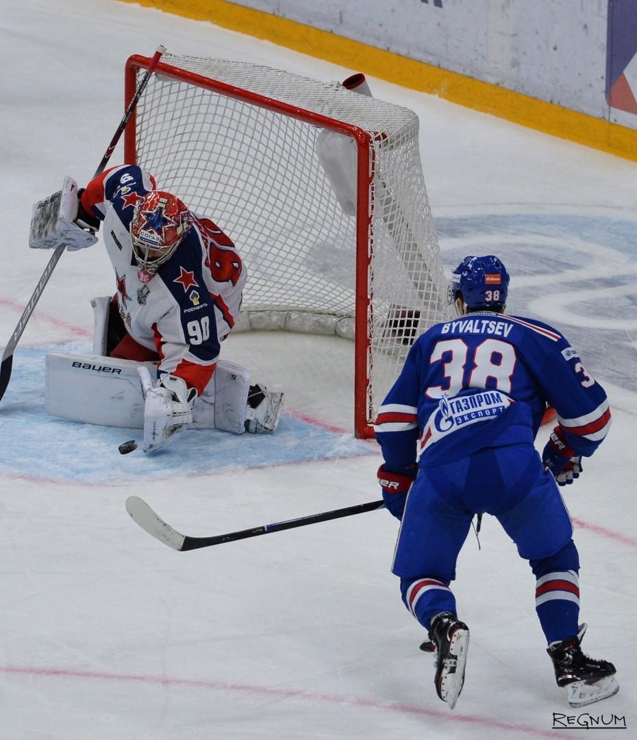 Чемпионат КХЛ СКА (Санкт-Петербург) — ЦСКА (Москва)