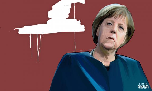 «Германия начала весеннее наступление на Украину с Запада»
