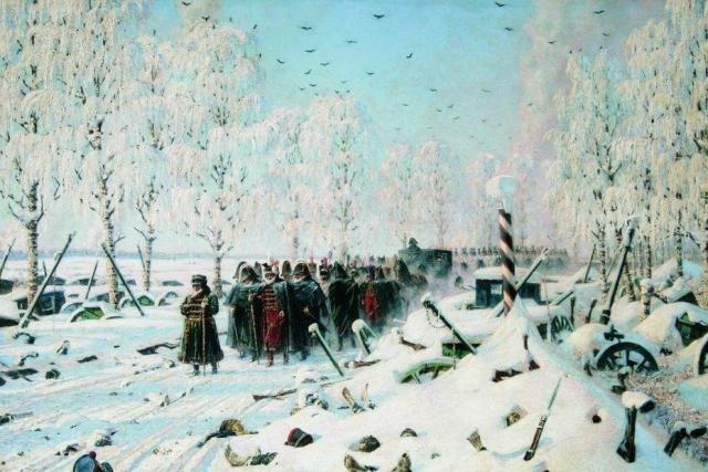Василий  Верещагин. На большой дороге. Отступление, бегство... 1887-1895