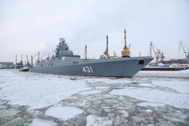 Четыре боевых корабля заложат в один день в Петербурге и Калининграде