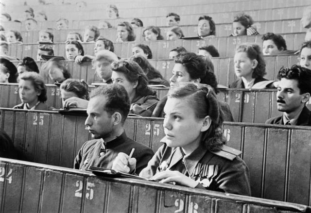 СССР. Студенты послевоенных лет
