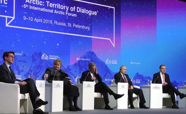 Арктика: фасад России или ее черный ход?