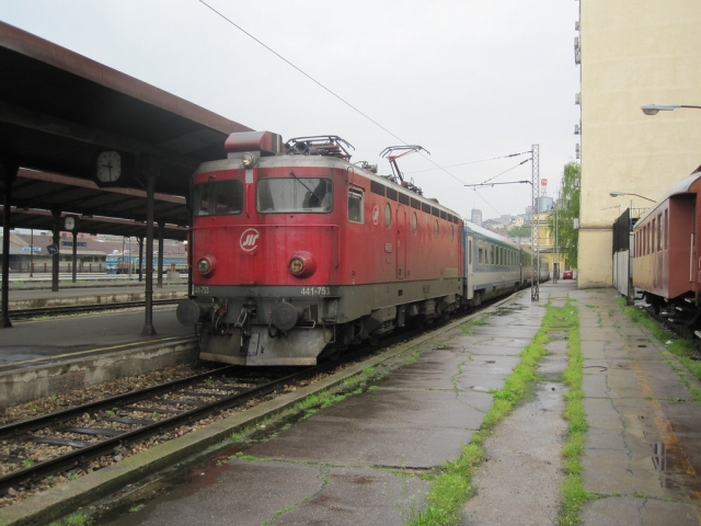 Поезд из Белграда в Будапешт