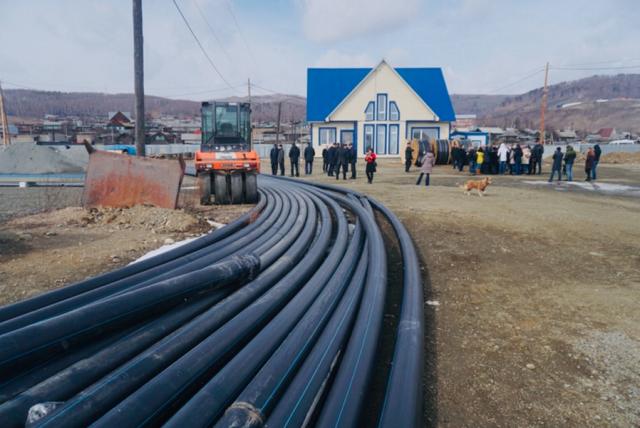 Завод по откачке байкальской воды в Култуке