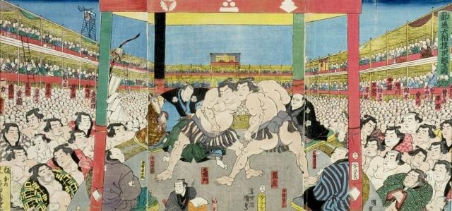 Трамп во время поездки в Японию захотел посмотреть на сумоистов